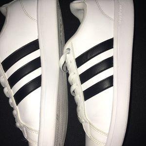 adidas neo cloudfoam advantage stripe men's